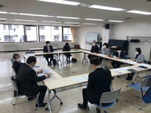 令和3年3月25日に開催された札苗地区活性化会議の様子